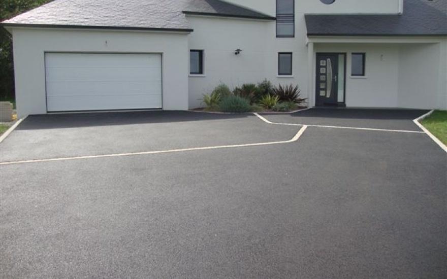 Descente de garage en n rostar en loire atlantique - Descente de garage en beton desactive ...