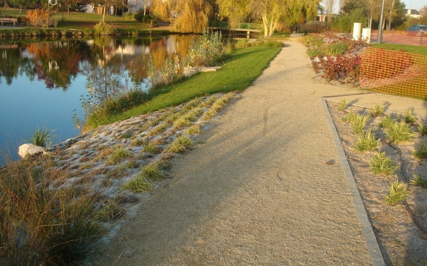 All e de jardin en naturelstar naturel cottage all e de jardin r alis par - Revetement allee de jardin ...