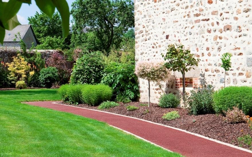 Alle De Jardin En Stardraine En Mayenne